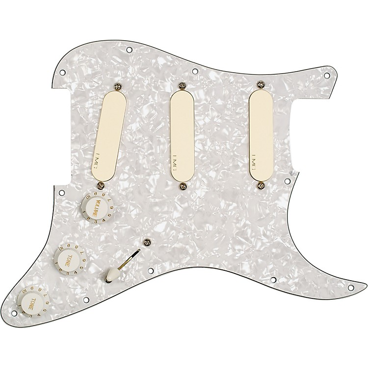EMG EMG-DG20 David Gilmour Pre-Wired Pickguard/Pickup Set Ivory