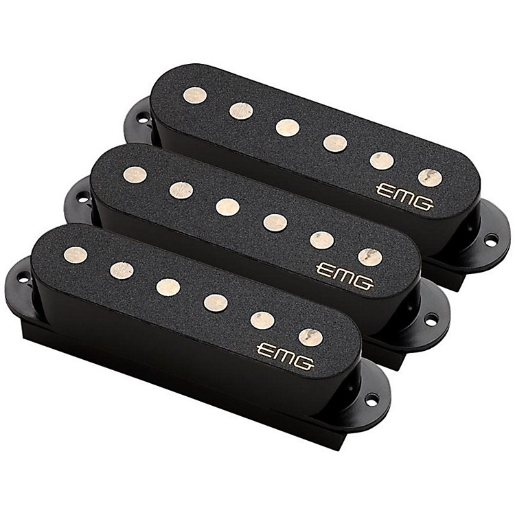 EMG EMG-SAV Alnico Single Coil Active Pickup Set Ivory