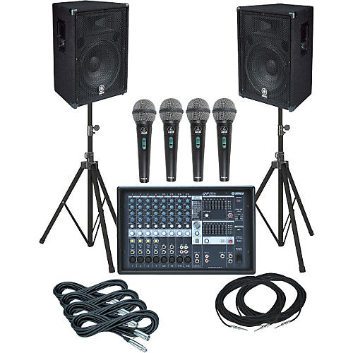 Yamaha EMX312SC-BR15 PA Package