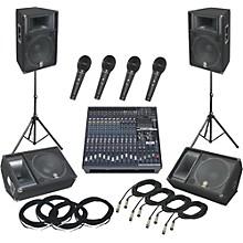 Yamaha EMX5016CF / S115V PA Package with Monitors