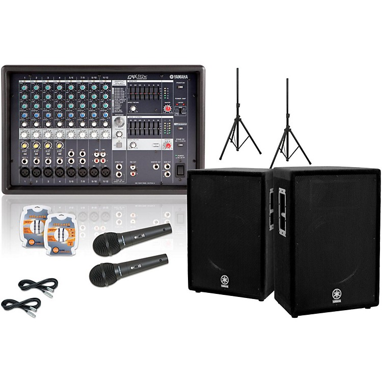 Yamaha EMX512SC / A15 PA Package