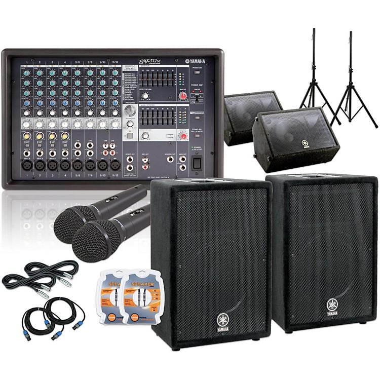 YamahaEMX512SC/A12 /A12M Mains & Monitors PA Sys