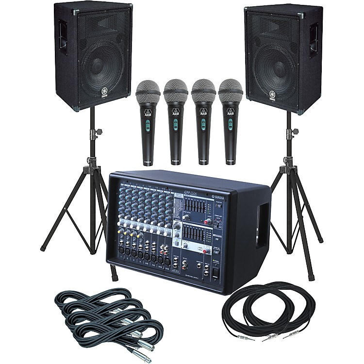 Yamaha EMX512SC-BR15 PA Package