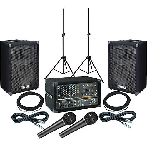 Yamaha emx620 s12e pa package musician 39 s friend for Yamaha dealers in pa