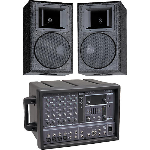 Yamaha EMX62M/AS108 PA Package