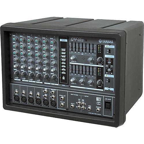 yamaha emx66m 6 channel powered mixer musician 39 s friend