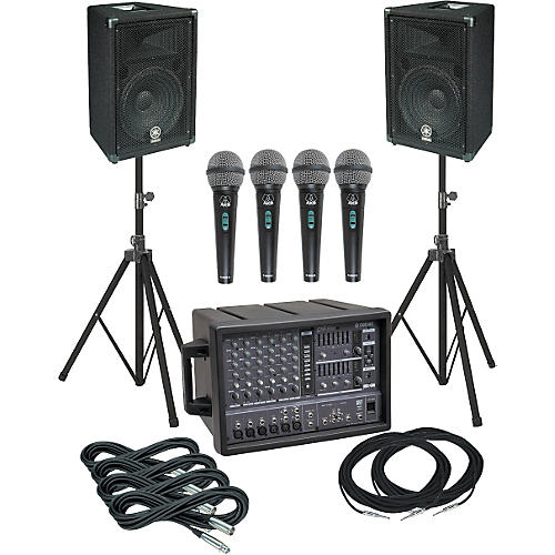 Yamaha EMX66M-BR12 PA Package