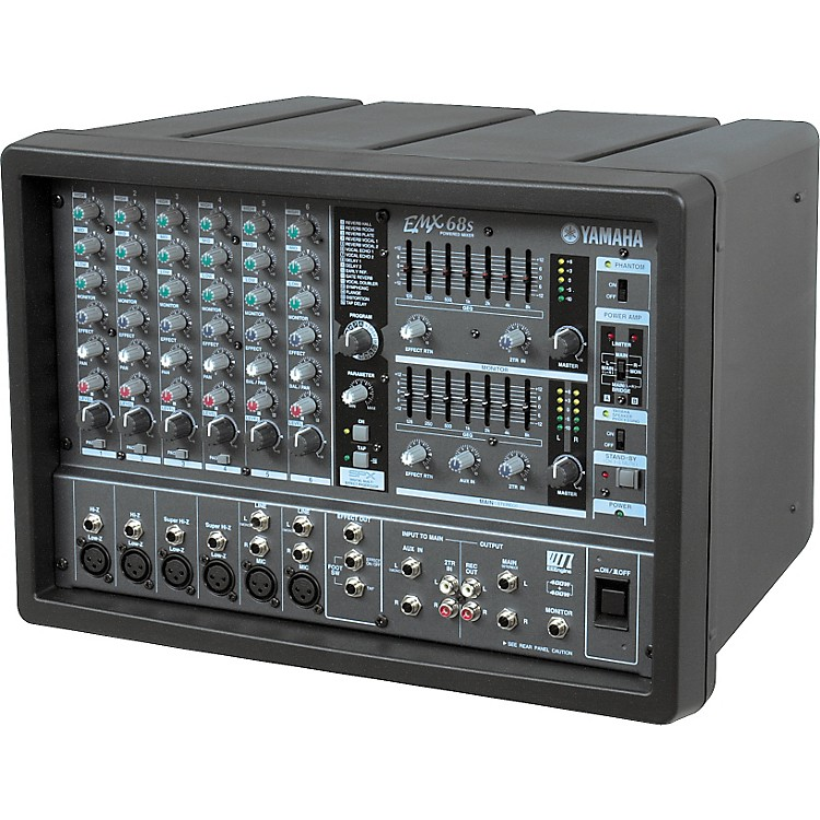 Yamaha EMX68S 6-Channel Powered Mixer