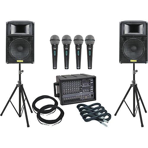 Yamaha EMX88M/S115IV Package