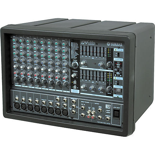 Yamaha emx88s 8 channel powered mixer musician 39 s friend for Yamaha power amp mixer