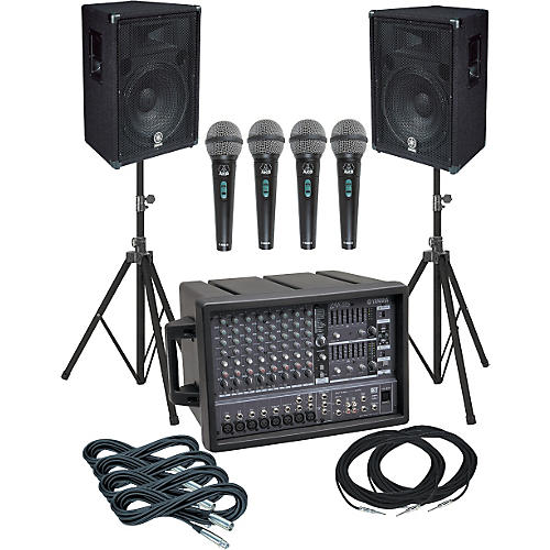 Yamaha EMX88S-BR15 PA Package