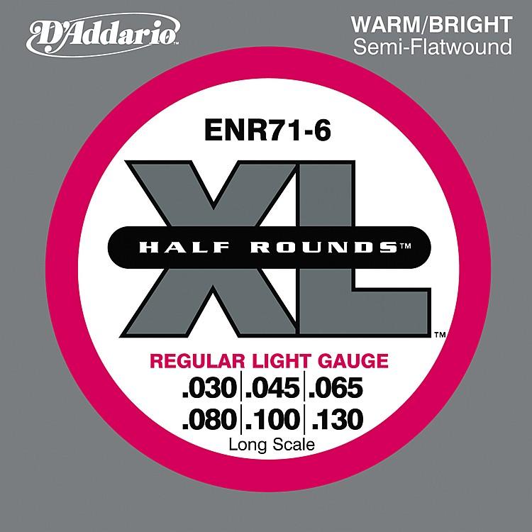 D'AddarioENR71-6 Half Rounds Light 6-String Bass StringsPiano
