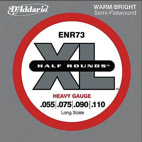 D'Addario ENR73 Half Rounds Heavy Bass Strings-thumbnail