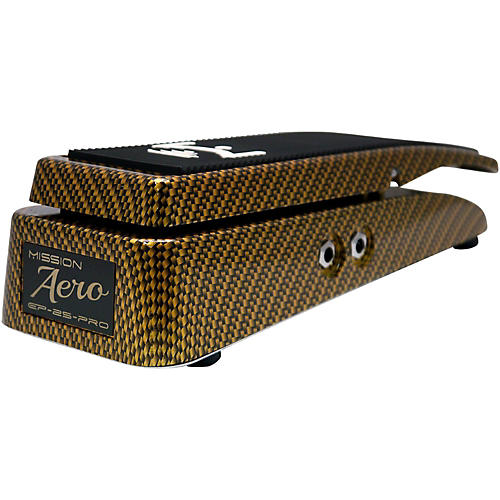 Mission Engineering EP-25-Pro Aero Gold Carbon Expression Pedal