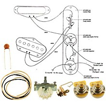 Allparts EP-4131-000 Wiring Kit for Tele Mod