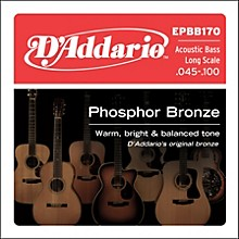 D'Addario EPBB170 PB Soft Acoustic Bass String Set