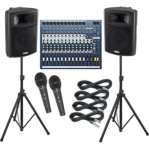 Soundcraft EPM12 / Harbinger APS15 PA Package