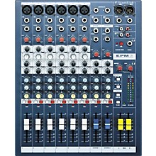 Soundcraft EPM6 6-Channel Multi-Format Mixer Level 1