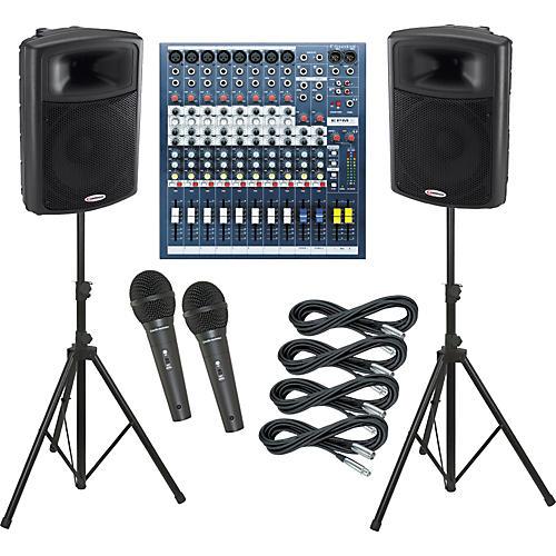 Soundcraft EPM8 / Harbinger APS15 PA Package