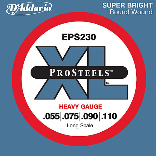 D'Addario EPS230 ProSteel Long Scale Bass Strings Heavy-thumbnail