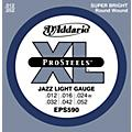 D'Addario EPS590 ProSteels Light Jazz Electric Guitar Strings  Thumbnail