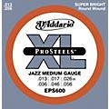 D'Addario EPS600 ProSteels Jazz Medium Electric Guitar Strings  Thumbnail