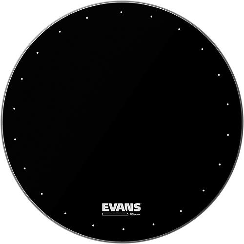 Evans EQ1 Resonant Black Drumhead  20 Inches