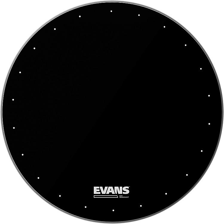 EvansEQ1 Resonant Black Drumhead20 Inches