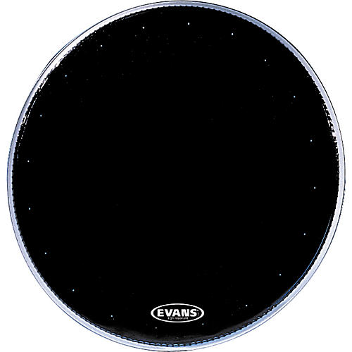 Evans EQ1 Resonant Black Drumhead  20 in.