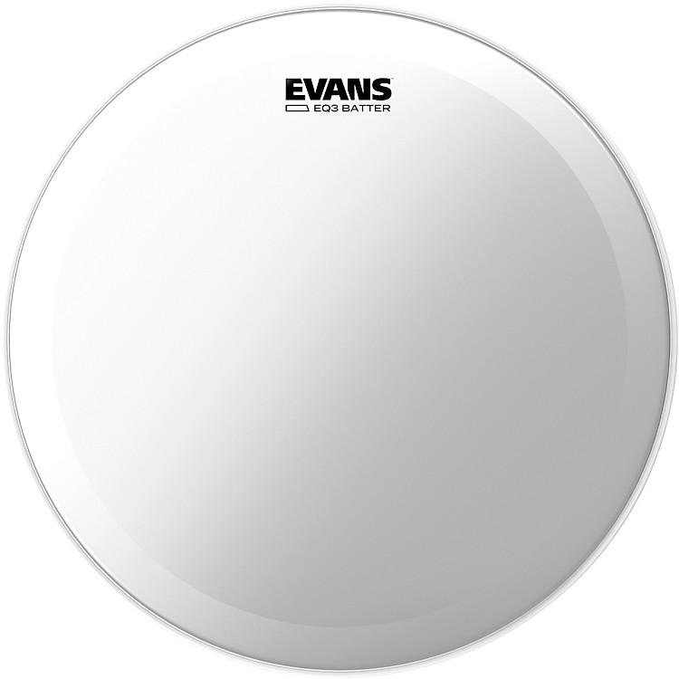 EvansEQ3 Batter Clear Bass Head20 Inch