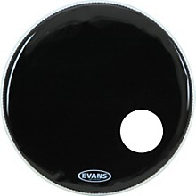 Evans EQ3 Black Resonant Bass Drumhead 18 in.