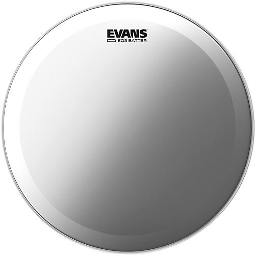 Evans EQ3 Frosted Bass Drum Head 20 in.