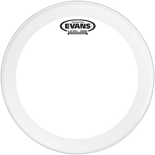 Evans EQ3 Frosted Bass Drum Head 24 in.