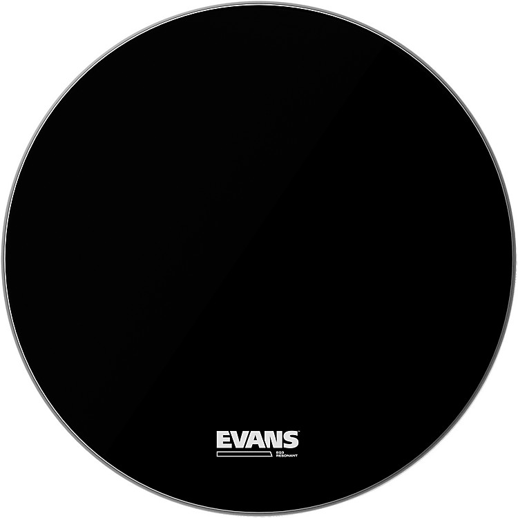Evans EQ3 Resonant Bass Drum Head 26