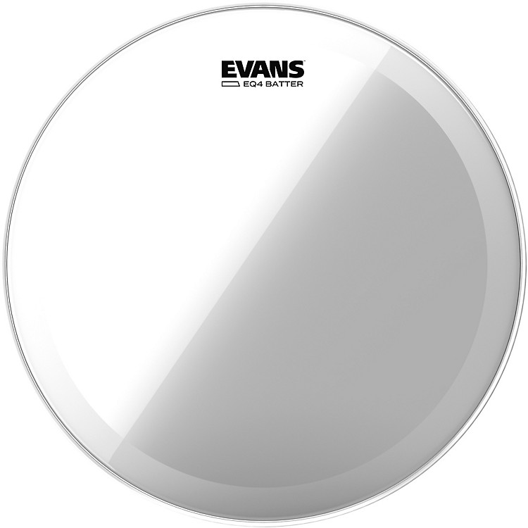 Evans EQ4 Batter Head Clear  18 Inches