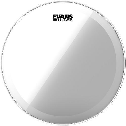 Evans EQ4 Clear Tom Drumhead for Floor Tom Conversion-thumbnail