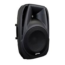 "Open Box Gemini ES-12BLU 12"" ABS powered Loudspeaker with Bluetooth MP3 player"