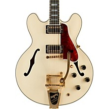 ES-355 VOS Bigsby Semi Hollow Electric Guitar Classic White