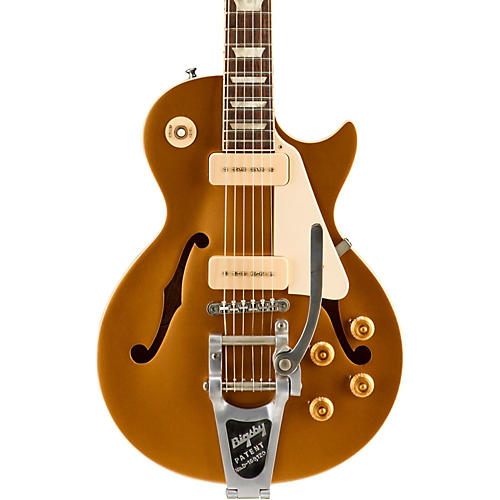 Gibson ES-Les Paul P-90 with Bigsby VOS Semi-Hollow Electric Guitar-thumbnail