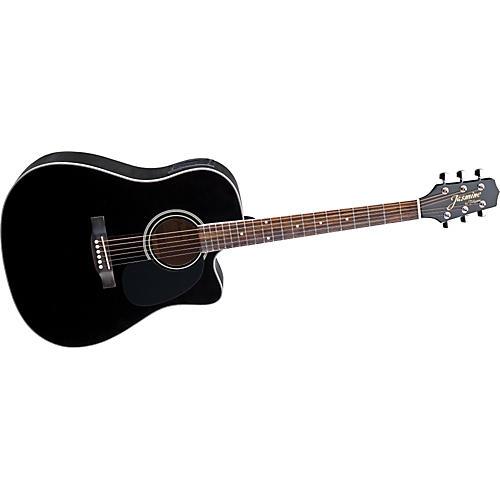 Jasmine ES341C Cutaway Dreadnought Acoustic-Electric Guitar