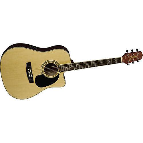 Jasmine ES35C Dreadnought Acoustic-Electric Guitar-thumbnail