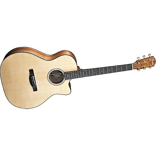 Fender ESA10CE Cutaway Acoustic-Electric Guitar-thumbnail