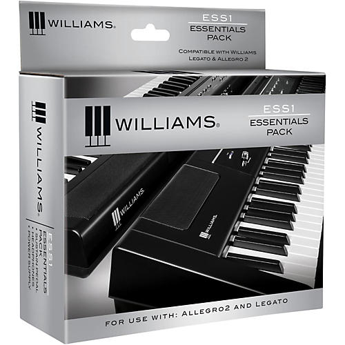 Williams ESS1 Essentials Pack for Legato Digital Piano-thumbnail