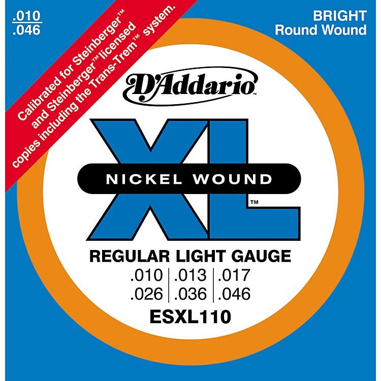 D'AddarioESXL110 Steinberger Regular Light Double Ball End Electric Guitar Strings