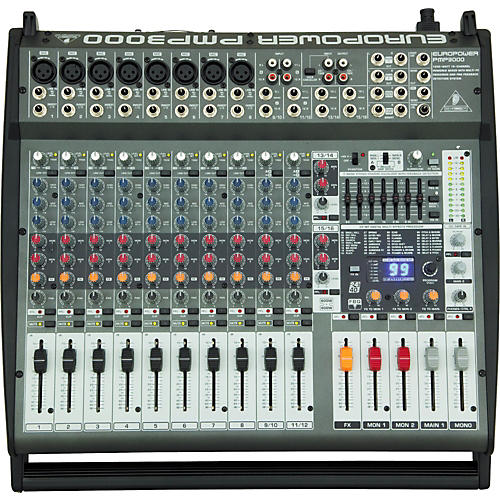 Behringer EUROPOWER PMP3000 12-Channel Powered Mixer