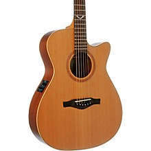 EKO EVO Series Auditorium Cutaway Acoustic-Electric Guitar