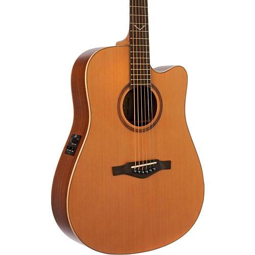 EKO EVO Series Dreadnought Acoustic-Electric Guitar Natural