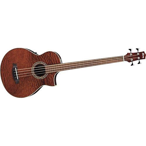 Ibanez EW Series EWB20QHFENT Fretless Acoustic-Electric Bass Guitar-thumbnail