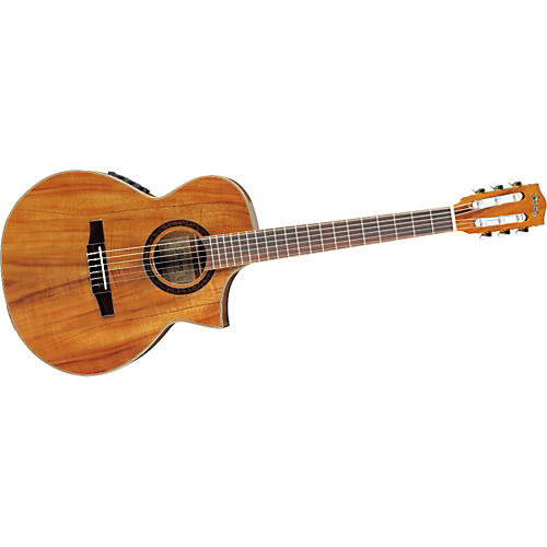 Ibanez EW Series EWN28KOENT Cutaway Nylon String Acoustic-Electric Guitar