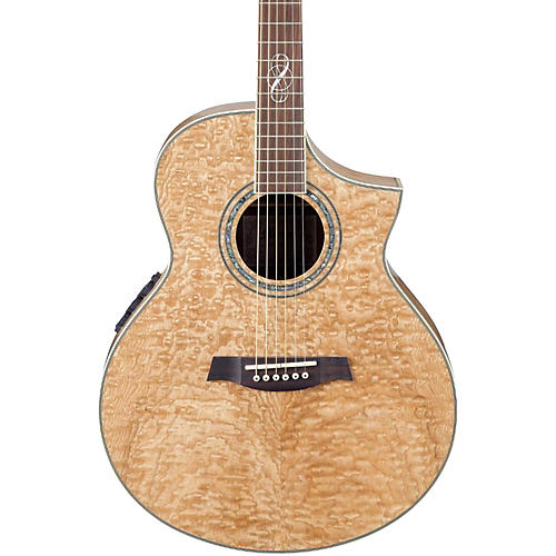 Ibanez EW20ASE Exotic Wood Figured Ash Cutaway Acoustic-Electric Guitar
